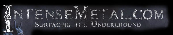 IntenseMetal.com -- Surfacing the Underground -- Main Logo